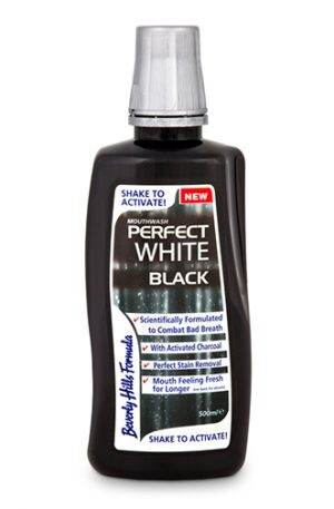 Вода за уста Perfect White Black